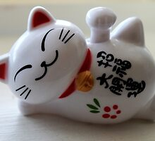 Maneki Neko (Fortune Cat) by Miebk