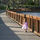 Little one wanders by Marcella  Summers