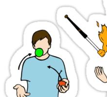 Learn to juggle Sticker