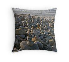 Zen Art ~ Stacking Rocks Throw Pillow