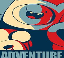 Adventure Time cover by JackCustomArt