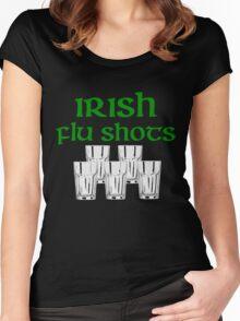 Irish Flu Shots Women's Fitted Scoop T-Shirt