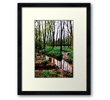 After the Storm, Stone Bridge Framed Print
