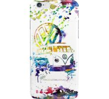 Volkswagen Kombi Splash iPhone Case/Skin