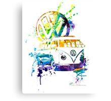 Volkswagen Kombi Splash © Canvas Print