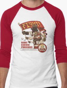 The Bearshevik Revolution Men's Baseball ¾ T-Shirt