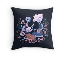 Rhythm of Grief (Day of the Dead) Throw Pillow