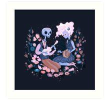 Rhythm of Grief (Day of the Dead) Art Print