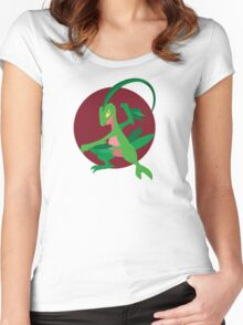 Grovyle - 3rd Gen Women's Fitted Scoop T-Shirt