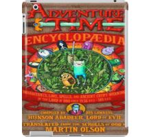 Adventure Time Encyclopedia cover iPad Case/Skin