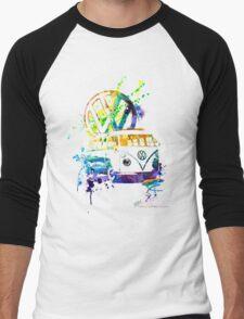 Volkswagen Kombi Splash © Men's Baseball ¾ T-Shirt