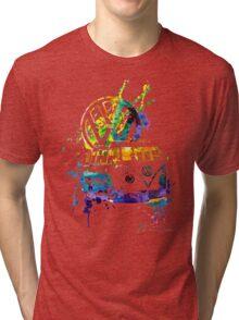 Volkswagen Kombi Splash © Tri-blend T-Shirt