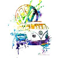 Volkswagen Kombi Splash by BlulimeMerch