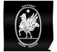 Baphomet Grand Master Poster