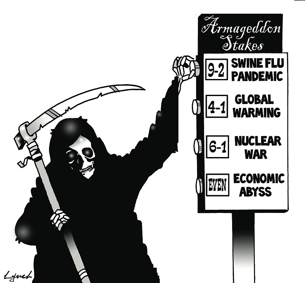 Armageddon by Mark  Lynch