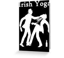 Irish Yoga Greeting Card