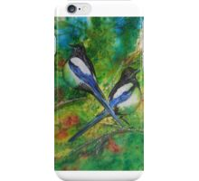 Two for Joy, Magpies iPhone Case/Skin