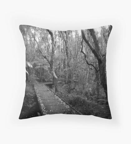 Into the Marsh Throw Pillow