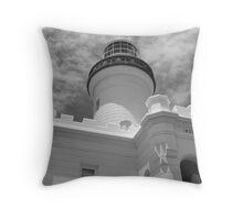Byron Lighthouse Throw Pillow