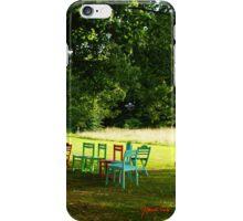 Take a seat - Hof ter Linden - Edegem iPhone Case/Skin