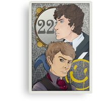 221B Locked Metal Print