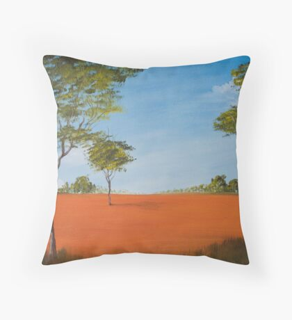 Australian outback Throw Pillow