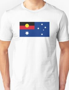 Aboriginal Flag with Southern Cross T-Shirt