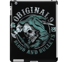Blood and Bullets iPad Case/Skin