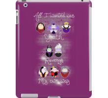The Wicked Ladies iPad Case/Skin
