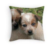 Poster Pups Throw Pillow