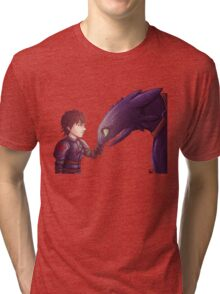 Hiccup & Toothless Tri-blend T-Shirt