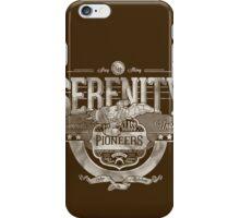 Space Pioneers - Silver iPhone Case/Skin