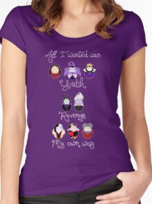 The Wicked Ladies Women's Fitted Scoop T-Shirt