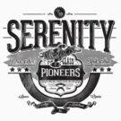 Space Pioneers - Black by CoDdesigns