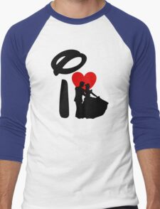 I Heart Happily Ever After Men's Baseball ¾ T-Shirt