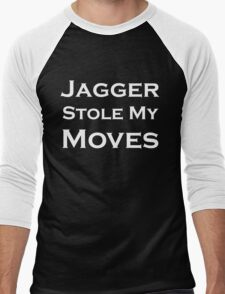 Jagger Stole My Moves Men's Baseball ¾ T-Shirt