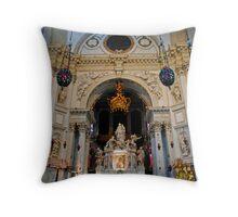 Church to the Madonna Throw Pillow