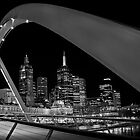 Bridge over Yarra River by Lesley Williamson