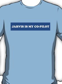 Jarvis is My Co-Pilot Marvel Avengers  T-Shirt