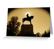 Gettysburg War Memorial Greeting Card