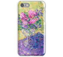 flowers in a glass iPhone Case/Skin