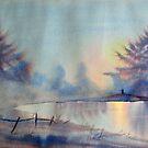 Winter Waterland by Glenn  Marshall