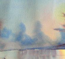 Winter Waterland Sticker
