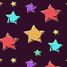 drainy stars  by Edith Arnold