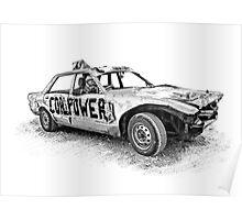Coalpower #63 - Lee Moore Poster