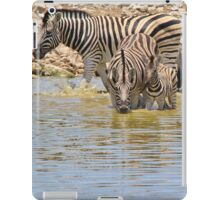 Zebra - Living a Colorful Life iPad Case/Skin