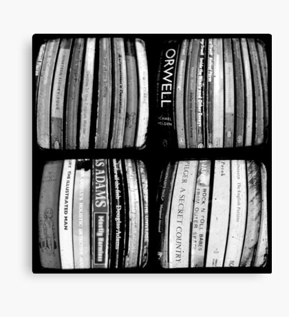 The Bookshelf Canvas Print