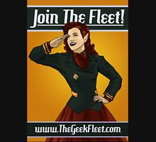 The Fleet wants YOU! Womens Fitted T-Shirt
