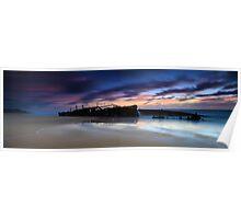 Maheno Wreck - Fraser Island Poster