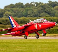 Folland Gnat T.1 XP504 G-TIMM Landing by Colin Smedley